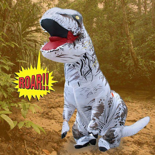 Inflable T-Rex dinosaurio  traje de fiesta juguetes al aire libre juego educativos niños 1