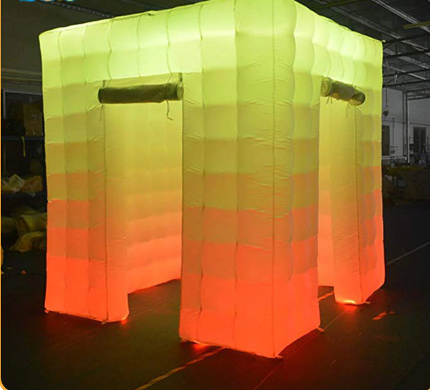 Cabina Inflable con luz Led 3