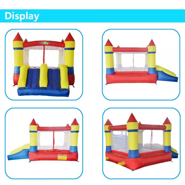 Castillo inflable 4x4 2
