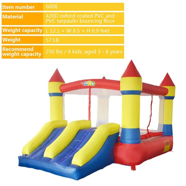 Castillo inflable 4x4 3