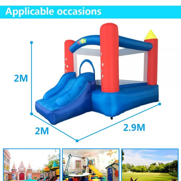 Castillo inflable 4x4 6