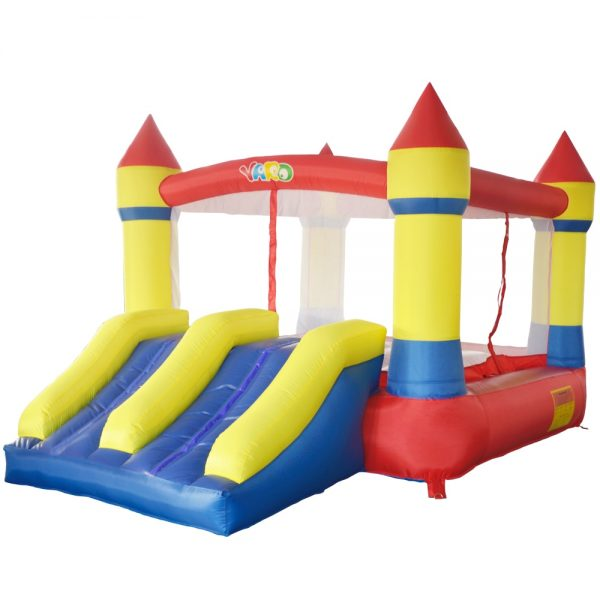Castillo inflable 4x4 1