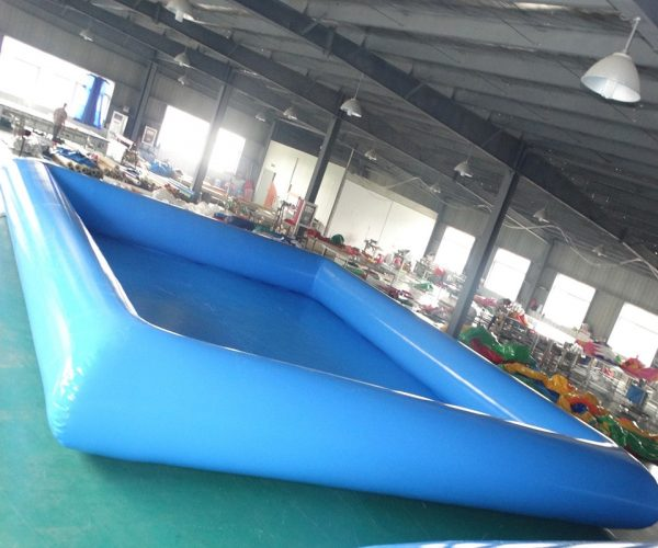 Piscina inflable gigante azul de gran calidad para adultos 2