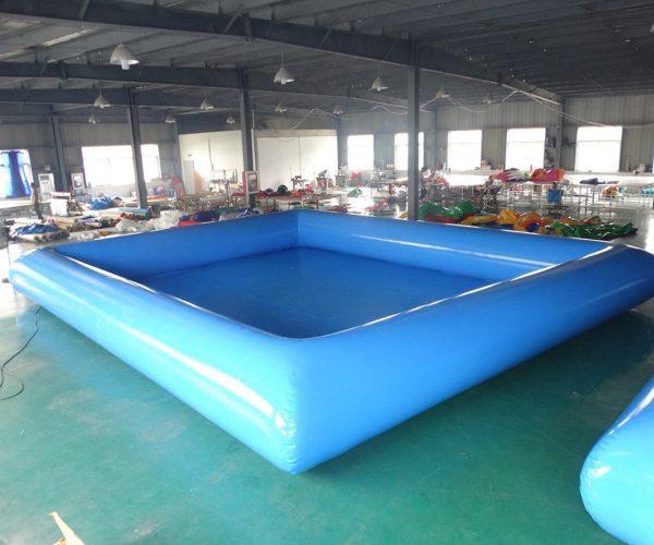 Piscina inflable gigante azul de gran calidad para adultos 3