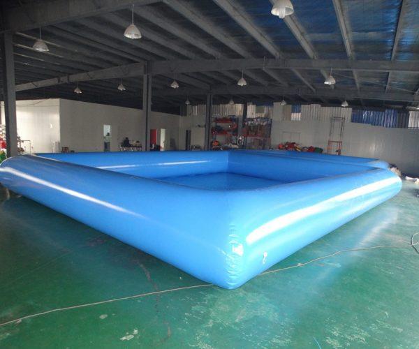 Piscina inflable gigante azul de gran calidad para adultos 5