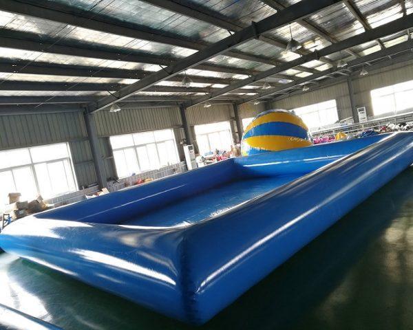 Piscina inflable gigante azul de gran calidad para adultos 1