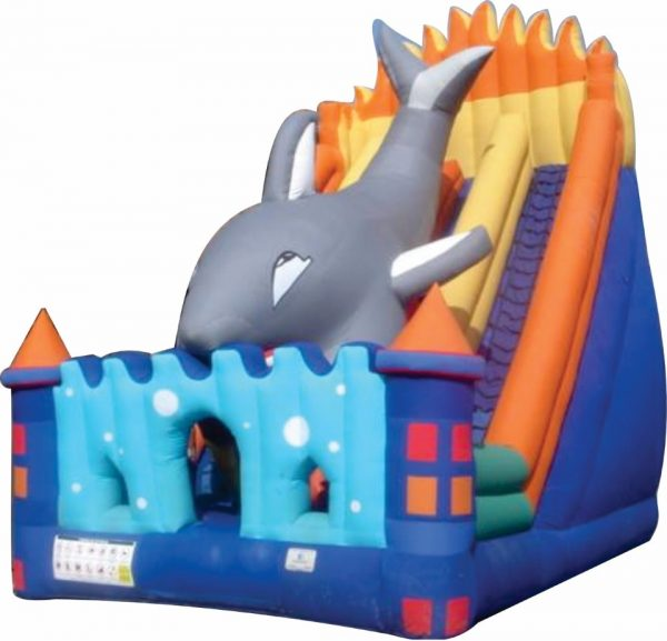 Inflable saltarin