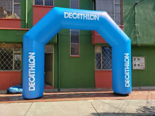 arco inflable decathlon