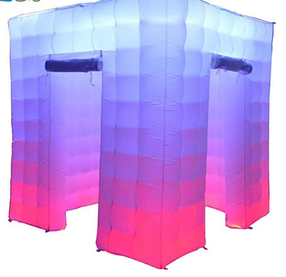 Cabina Inflable con luz Led 2