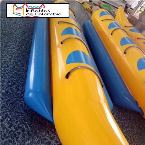 Banana Inflable de 5 asientos - PVC de 0,9mm 2