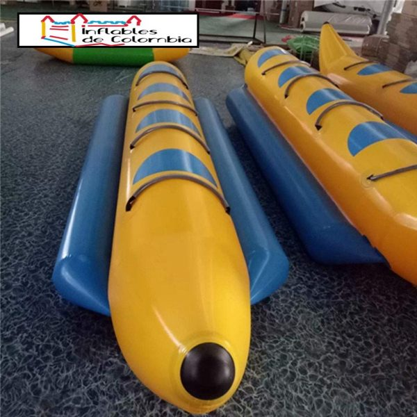 Banana Inflable de 5 asientos - PVC de 0,9mm 1