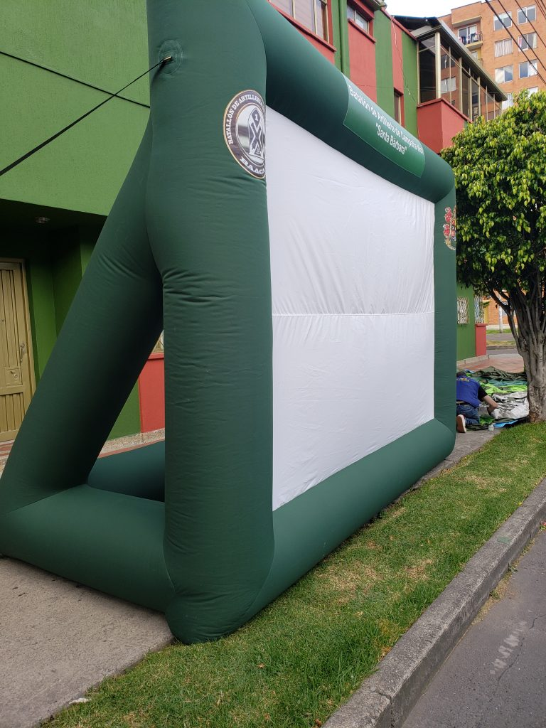 pantalla Inflable
