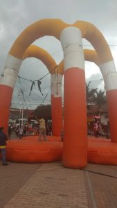Alquiler Inflable Bungee Jumping
