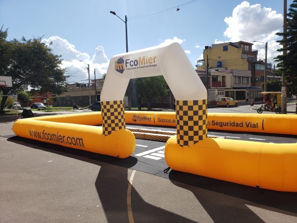 Pista Inflable 1