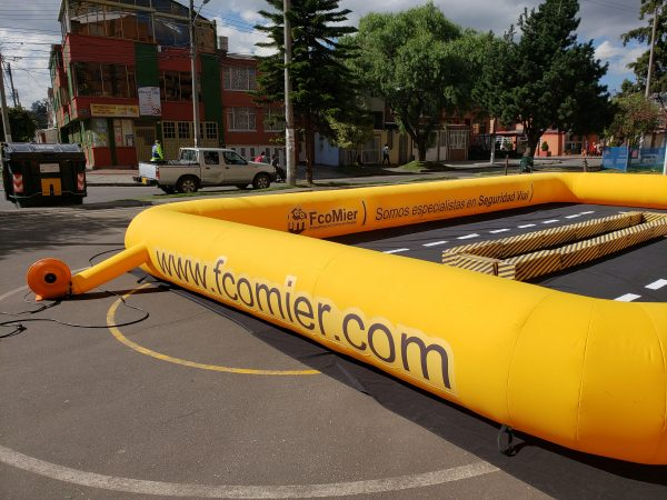 Pista Inflable 3