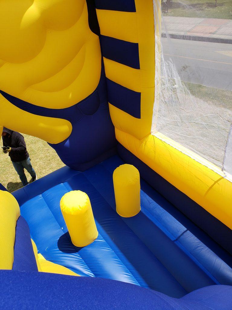 Castillo inflable Minions