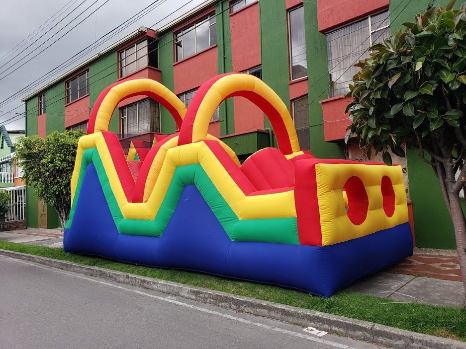 Alquiler Inflable Obstáculos
