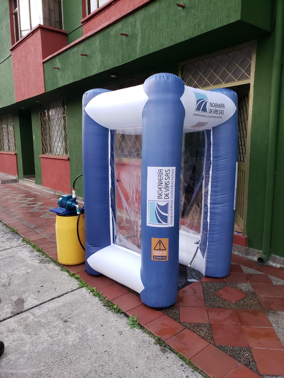 cabina desinfectante covid 19