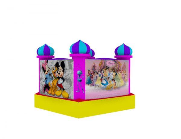 Castillo Inflable para niños 1.5mt x 1.5mt 1