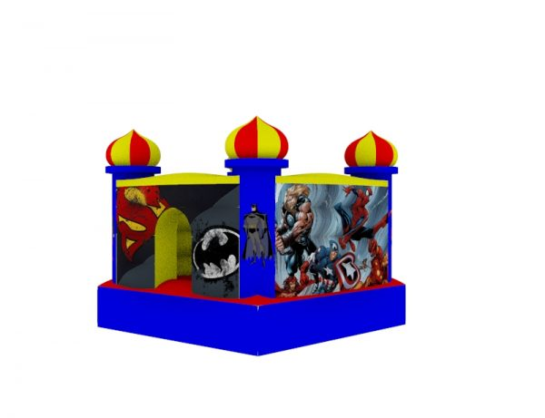 Castillo Inflable para niños 1.5mt x 1.5mt 6