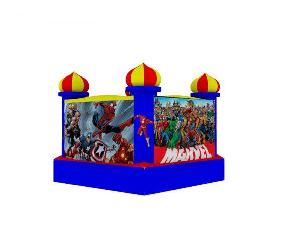 Castillo Inflable para niños 1.5mt x 1.5mt 7
