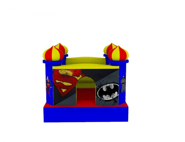 Castillo Inflable para niños 1.5mt x 1.5mt 8