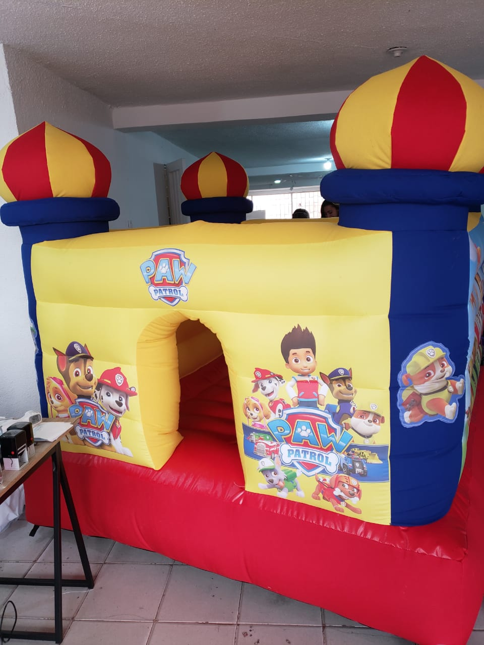 Castillo Inflable Paw Patrol