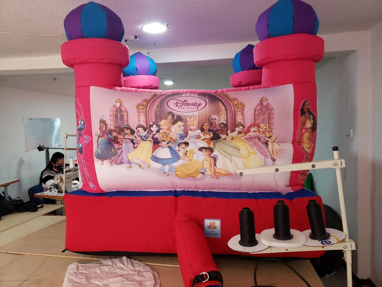 Castillo Inflable para niños 1.5mt x 1.5mt 5