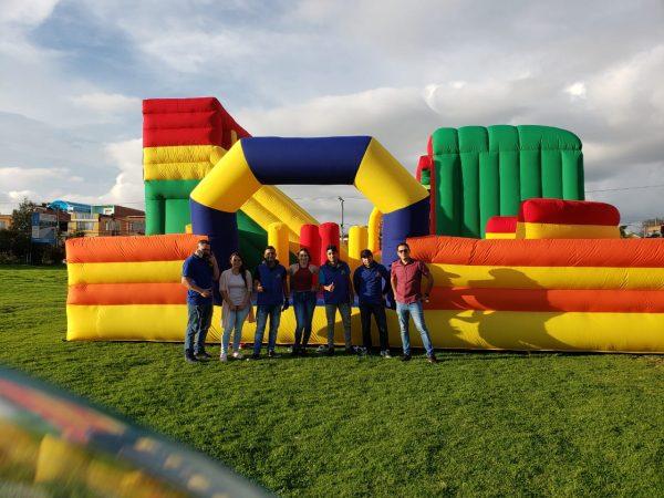 parque inflable 10 x10