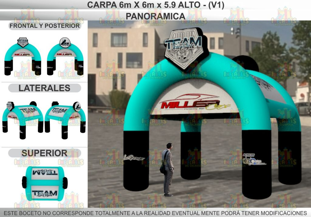 Carpa Inflable
