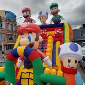 tobogán Inflable Mario Bros