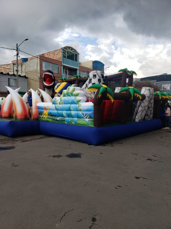 Parque Inflable Dinosaurio