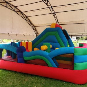 Castillo inflable tobogán