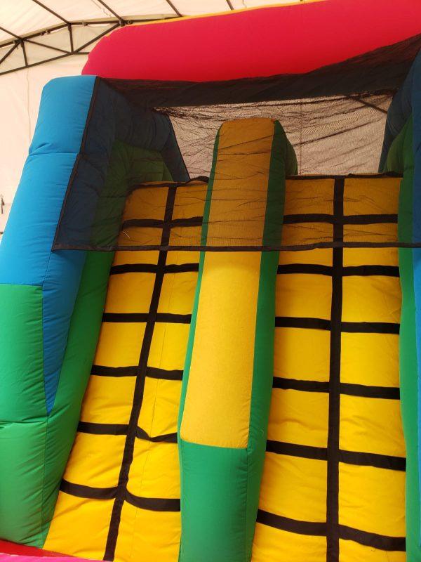 castillo inflable escalador